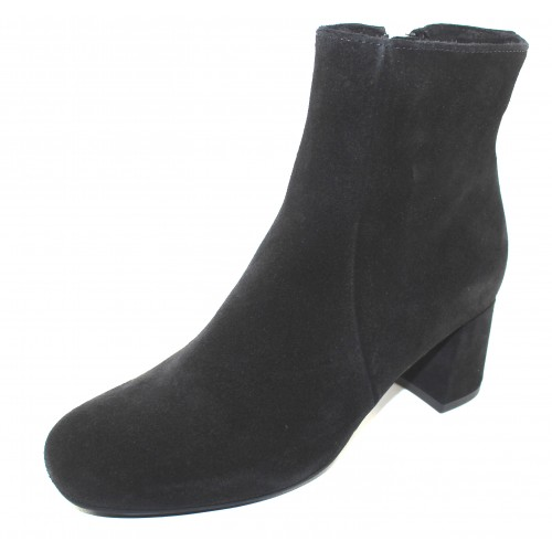 La Canadienne Women's Jiji In Black Waterproof Suede