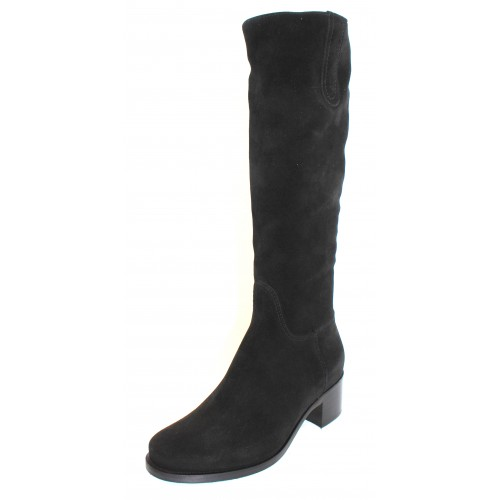 La Canadienne Women's Polly In Black Waterproof Suede
