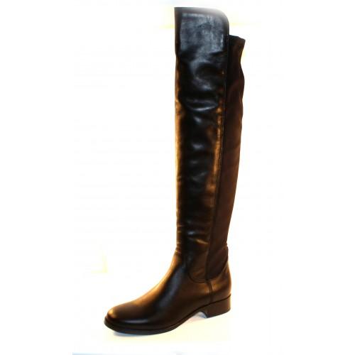 La Canadienne Women's Sindy In Black Waterproof Leather/Microfiber