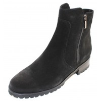 La Canadienne Women's Smith In Black Waterproof Suede