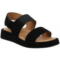 Lamour Des Pieds Women's Ainsley In Black Kid Suede