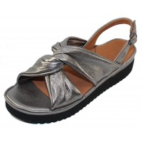 Lamour Des Pieds Women's Amiens In Anthracite Lamba Leather