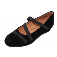Lamour Des Pieds Women's Berency In Black Kid Suede