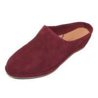 Lamour Des Pieds Women's Bingwen In Mulberry Kid Suede