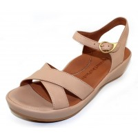 Lamour Des Pieds Women's Casimiro In Nude Nappa Leather