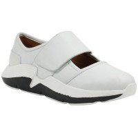 Lamour Des Pieds Women's Haslan In White Lamba Leather