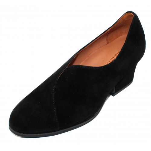 Lamour Des Pieds Women's Jesicca In Black Kid Suede