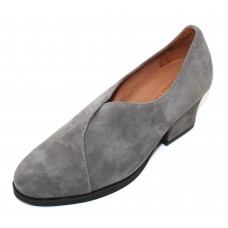 Lamour Des Pieds Women's Jesicca In Charcoal Suede