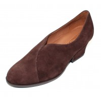 Lamour Des Pieds Women's Jesicca In T. Moro Brown Kid Suede