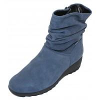Mephisto Women's Agatha In Jeans Blue Bucksoft Suede 6995