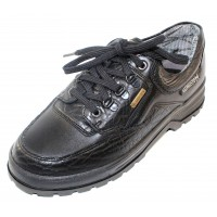 Mephisto Men's Barracuda Gt In Black Grain Leather 714/384