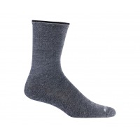 Mephisto Beverly Crew Sock In Charcoal