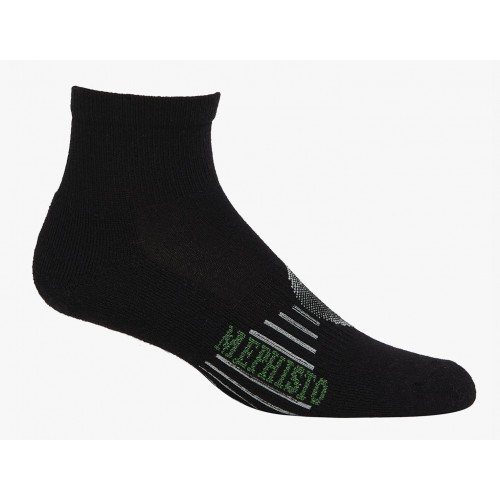 Mephisto Boca Mini Crew Sock In Black