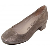 Mephisto Women's Brity In Dark Taupe Artic Embossed Leather 5565
