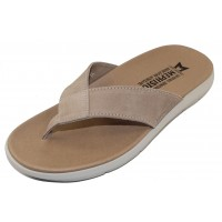 Mephisto Men's Charly In Taupe Velours Suede 9837