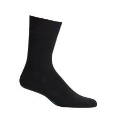 Mephisto Coton Fine Dress Sock In Black