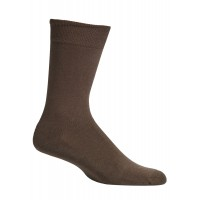 Mephisto Coton Fine Dress Sock In Brown