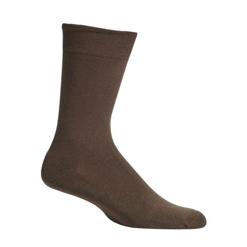 Mephisto Coton Fine Dress Sock In Brown