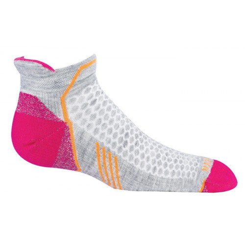 Mephisto Crosstrail Womens Sock In Light Grey