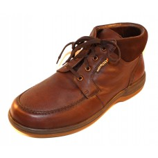 Mephisto Men's Darwin Wp In Chestnut Riko Waterproof Smooth Leather 2178/3651