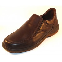 Mephisto Men's Davy Hydro In Dark Brown Riko Smooth Leather 2151