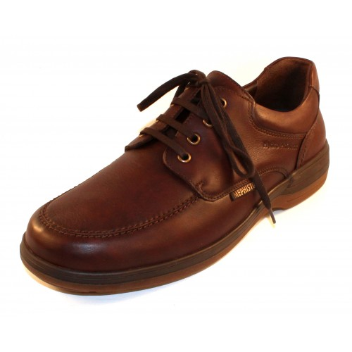 Mephisto Men's Douk In Chestnut Riko Waterproof Hydro-Protect Leather 2178