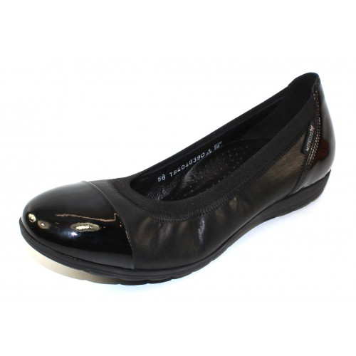 Mephisto Women's Elettra In Black Patent Leather/Leather 4200/7800