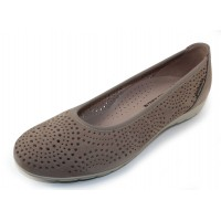 Mephisto Women's Elsie Perf In Light Taupe Bucksoft 6918