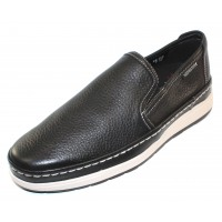 Mephisto Men's Hadrian In Black Oregon Leather 1300
