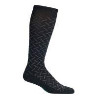 Mephisto Herringbone Compression Sock In Black