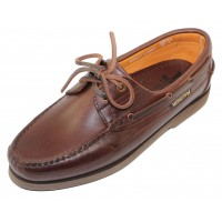 Mephisto Men's Hurrikan In Dark Brown Smooth Leather