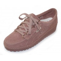 Mephisto Women's Lady In Old Pink Velour Suede 3049