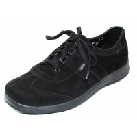Mephisto Women's Laser In Black Nubuck 5400
