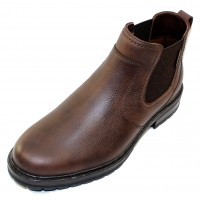 Mephisto Men's Lopez In Dark Brown Nevada Grain Leather 1501