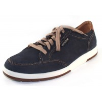 Mephisto Men's Ludo In Navy Sportbuck/Hazelnut Mano 1945/3535