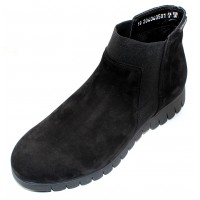 Mephisto Women's Lyana In Black Bucksoft 6900