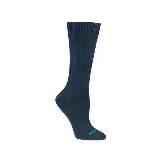 Mephisto Newport L/W Dress Sock In Navy
