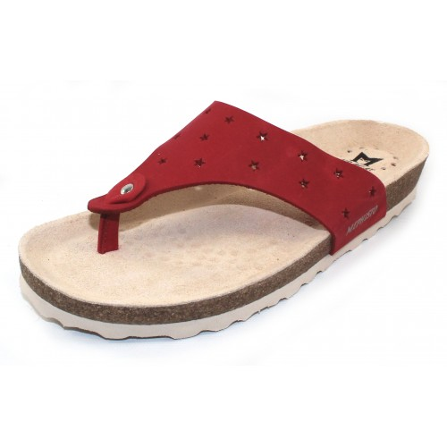 Mephisto Women's Nikie Star In Red Nubuck 6048N