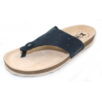 Mephisto Women's Nikie Star In Navy Nubuck 6045