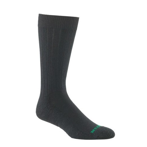 Mephisto Nyc Padded Dress Sock In Black