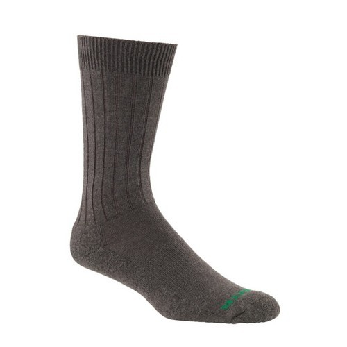 Mephisto Nyc Padded Dress Sock In Brown