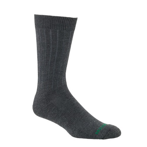 Mephisto Nyc Padded Dress Sock In Charcoal