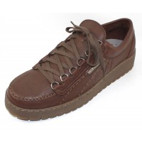 Mephisto Men's Rainbow In Chestnut Oregon Leather 1378