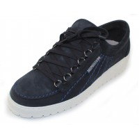 Mephisto Men's Rainbow In Navy Sportbuck 1945