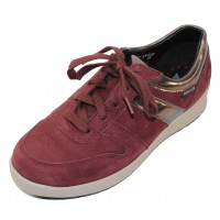Mephisto Women's Rebeca In Wine Bucksoft/Magic Tortora 3170N