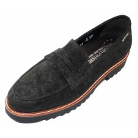 Mephisto Women's Sidney In Black Lido Sparkle Suede 15900