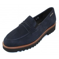 Mephisto Women's Sidney In Navy Velcalf Suede 12245