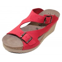 Mephisto Women's Terie In Red Nubuck 6048N