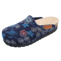 Mephisto Women's Thea Mobils In Navy Floral Sweety