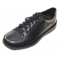 Mephisto Men's Thomas Win In Black Randy/Velsport Leather 6100/3600